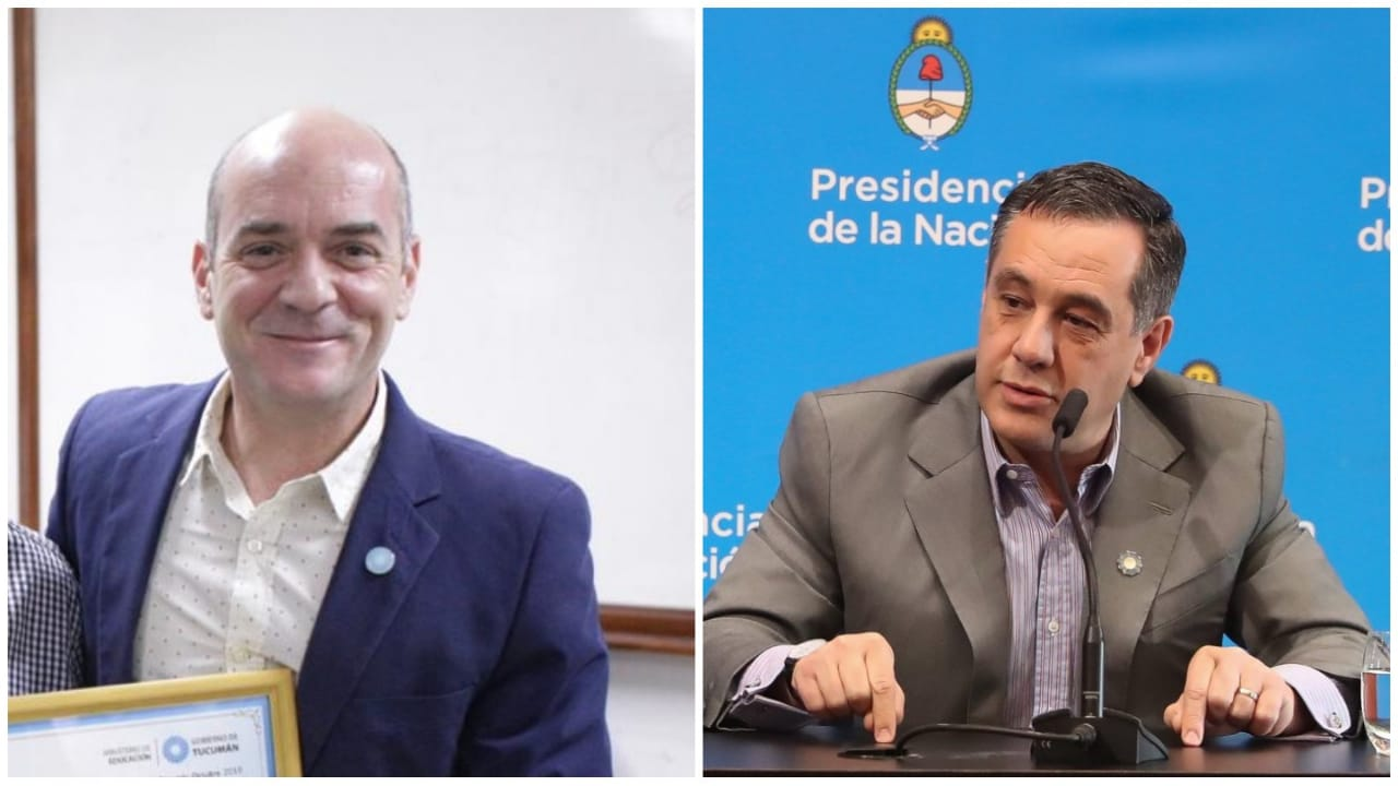 Twitter Juan Pablo Lichtmajer y Alejandro Finocchiaro