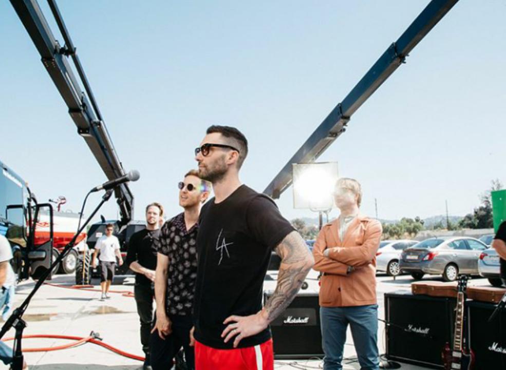 Fuente: Instagram oficial Maroon 5