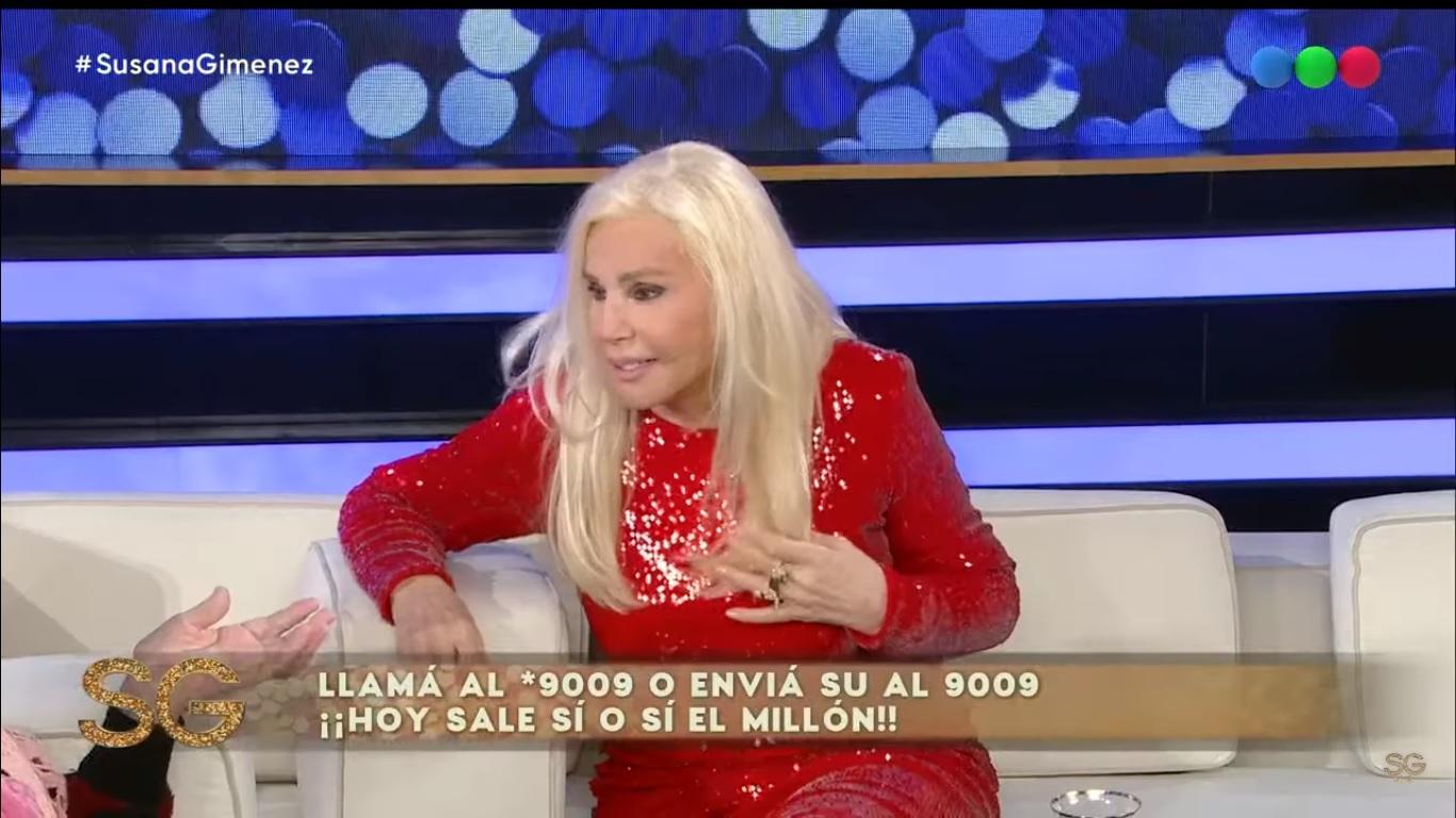 Susana Giménez despidió el año con una sorpresa