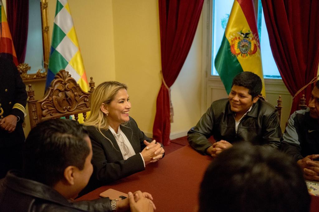 Foto: Áñez Chávez Tw