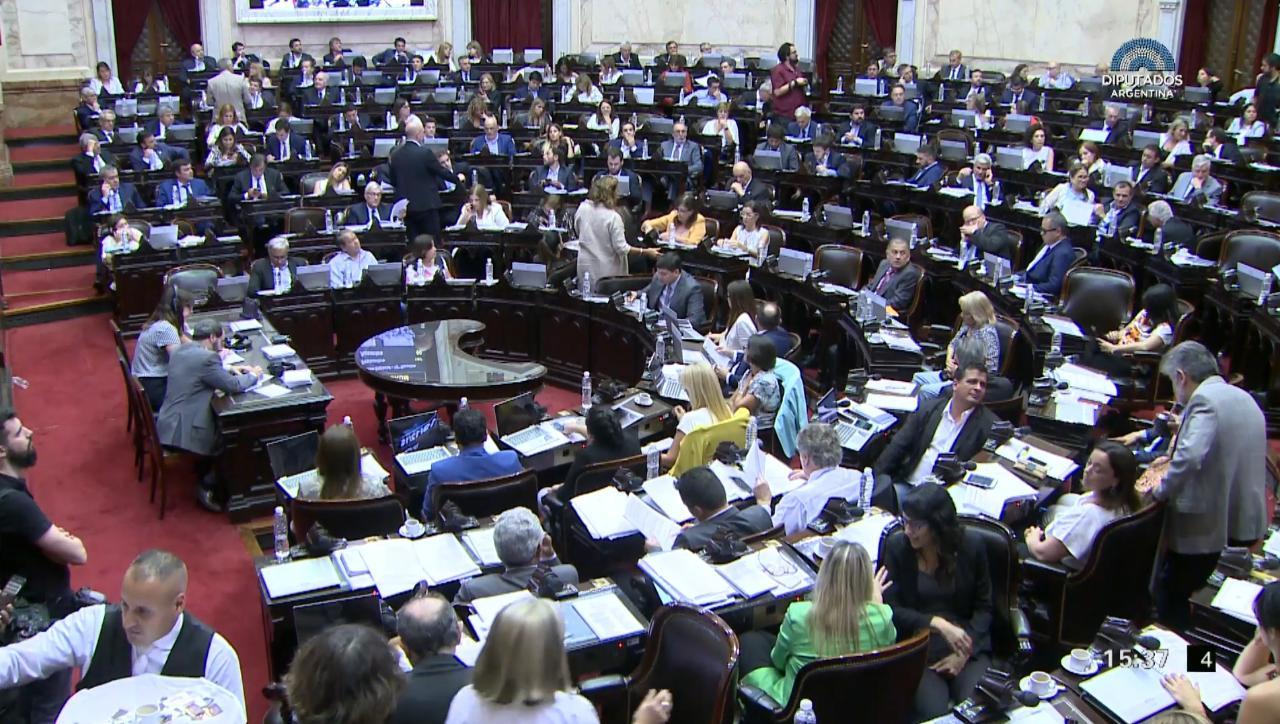 Foto: Diputados Argentina