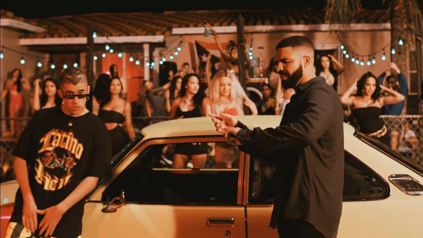 Drake y Bad Bunny