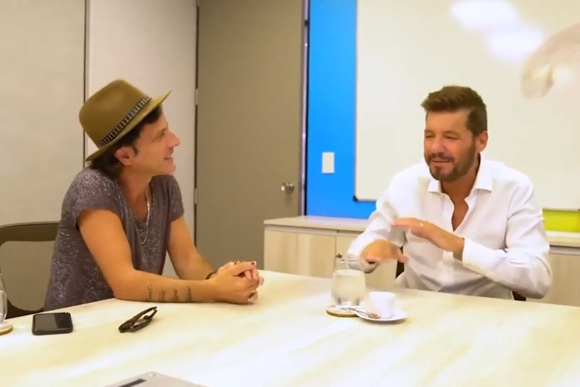 Coti y Marcelo Tinelli