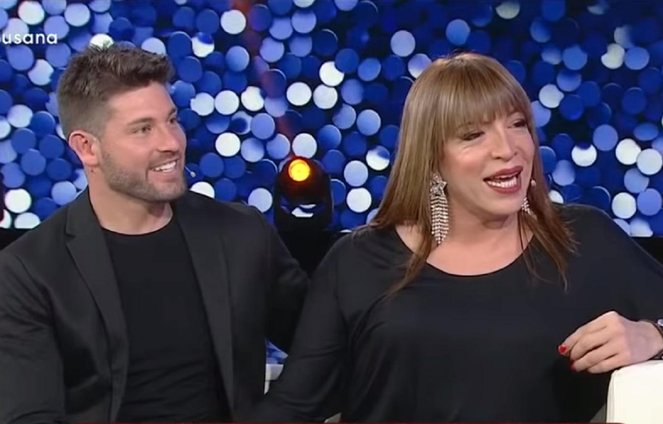 Lizy Tagliani y Leo Alturria