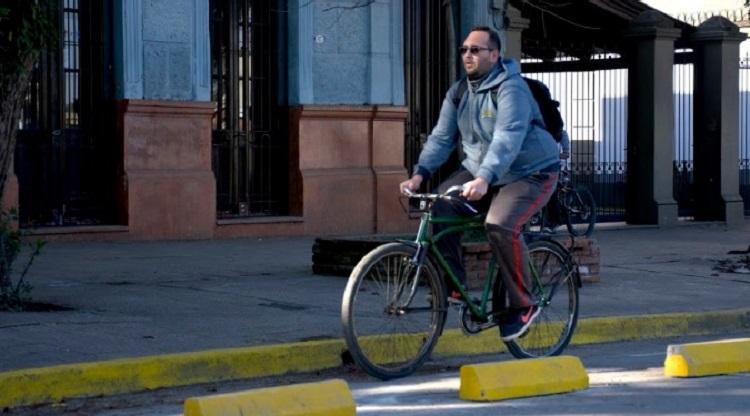 uso de bicicleta
