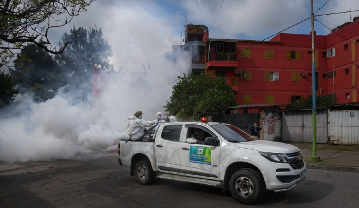Operativo integral contra el dengue.