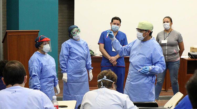 cuarentena médicos