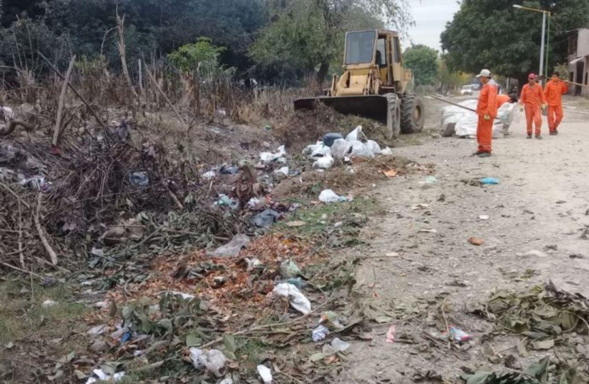 Operativo Integral de limpieza por toda la ciudad