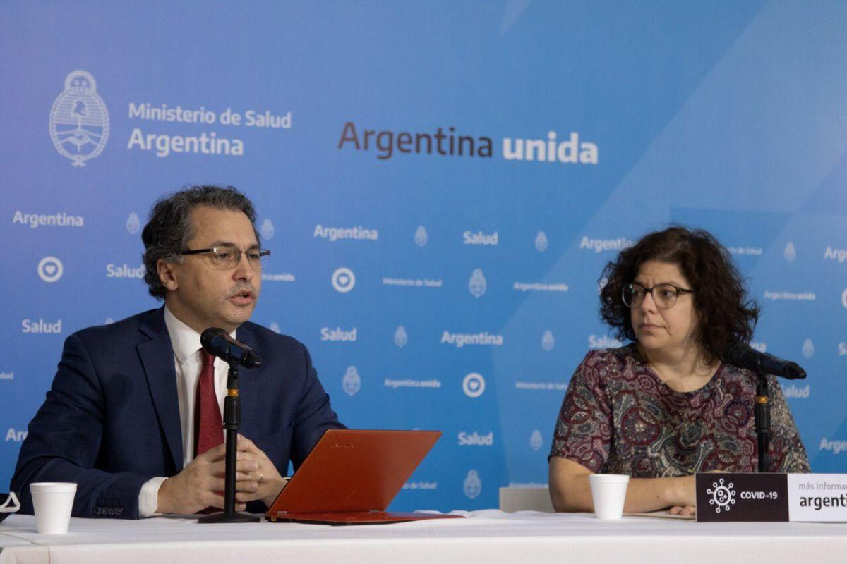 Números del coronavirus en Argentina