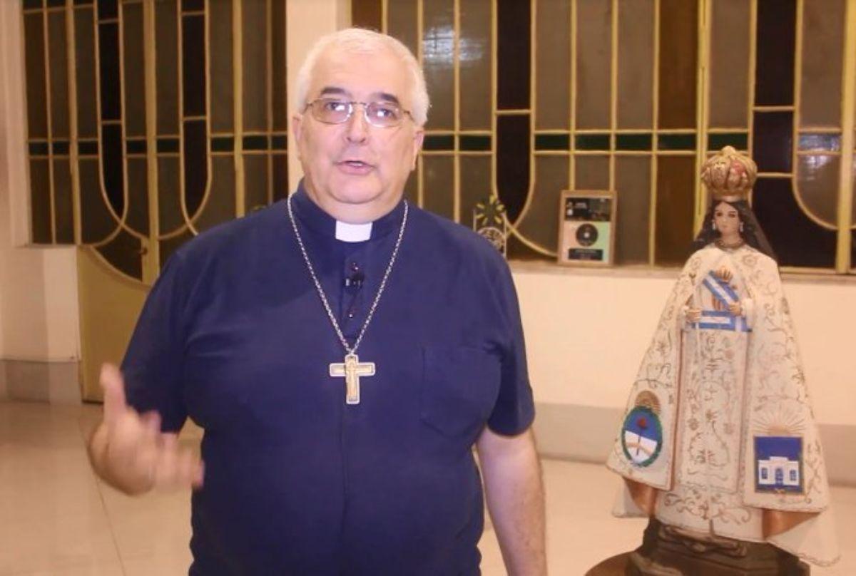Monseñor Carlos Sanchez, arzobispo de Tucumán