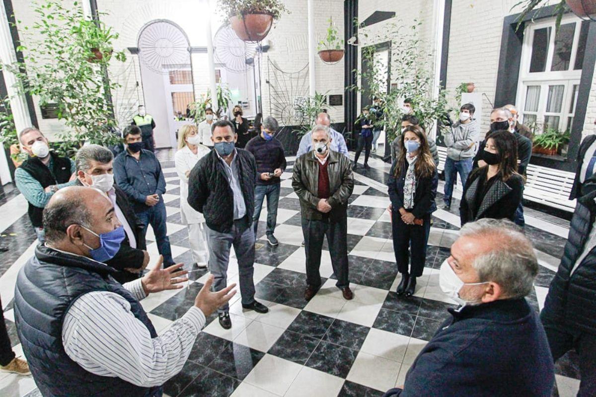 Monteros y un nuevo anexo del Centro Judicial