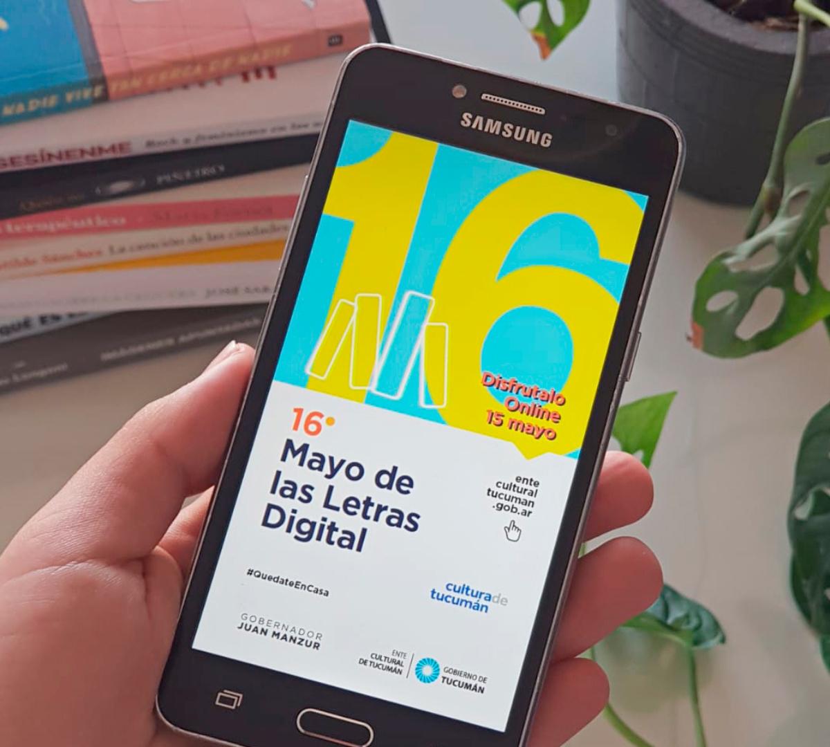 Mayo de Letras Digital en Youtbe.