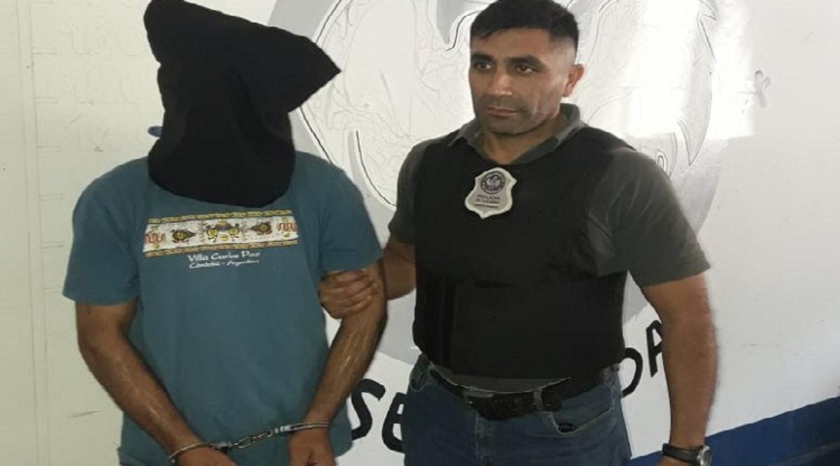Capturan fugado de Villa Urquiza