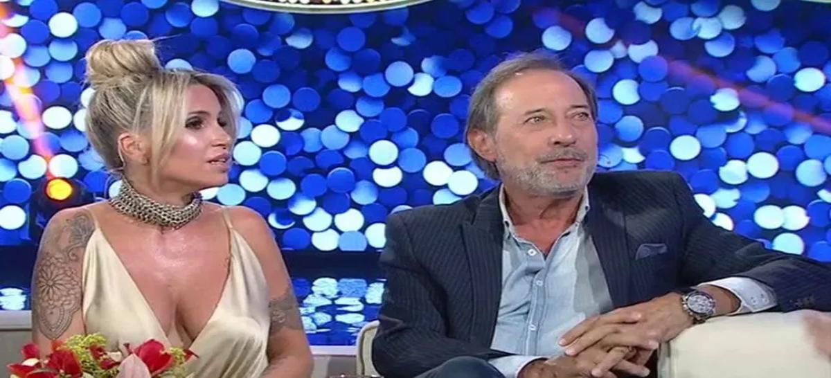 Guillermo Franchella y Flor Peña