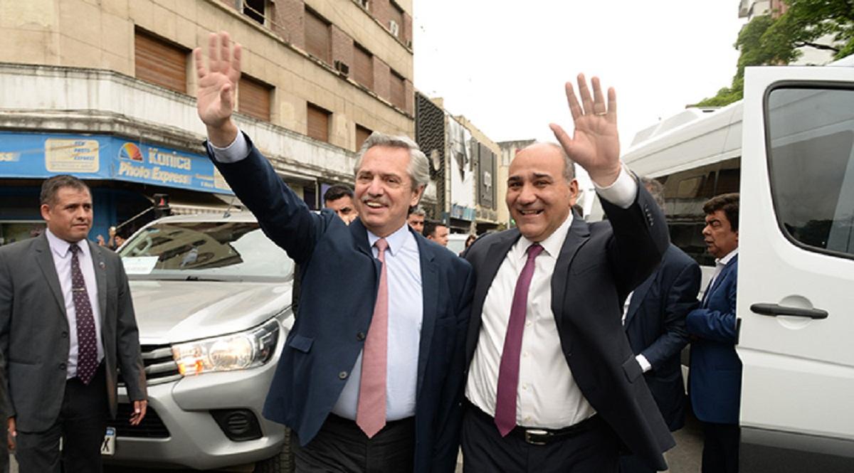 El Presidente visita la obra pública de Tucumán.