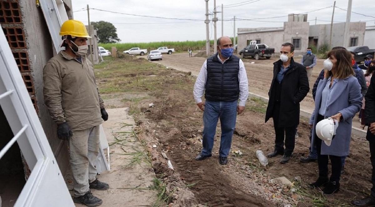Reactivan la construcción de 100 viviendas en Banda del Río Salí.