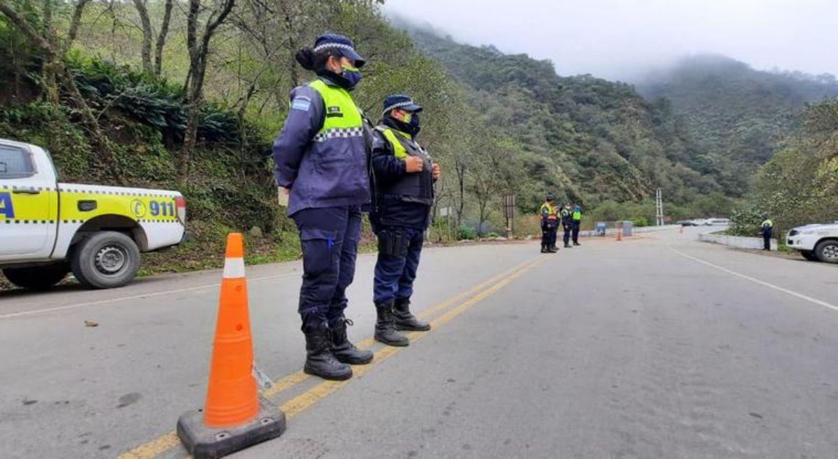 Nuevos controles en Tafí del Valle