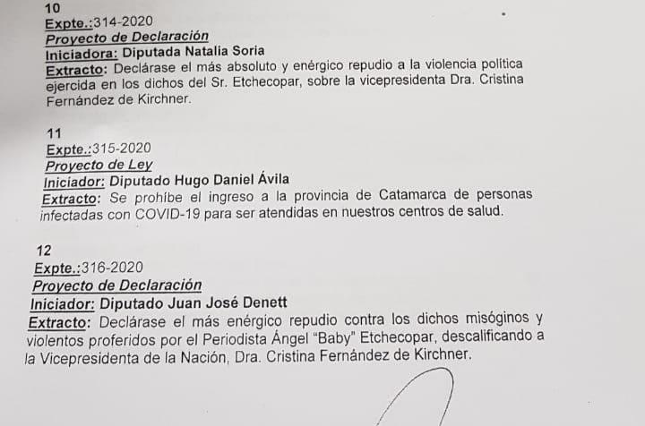 Etchecopar CFK Catamarca.