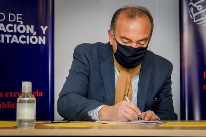 El ministro de Gobierno Jorge Moreno.