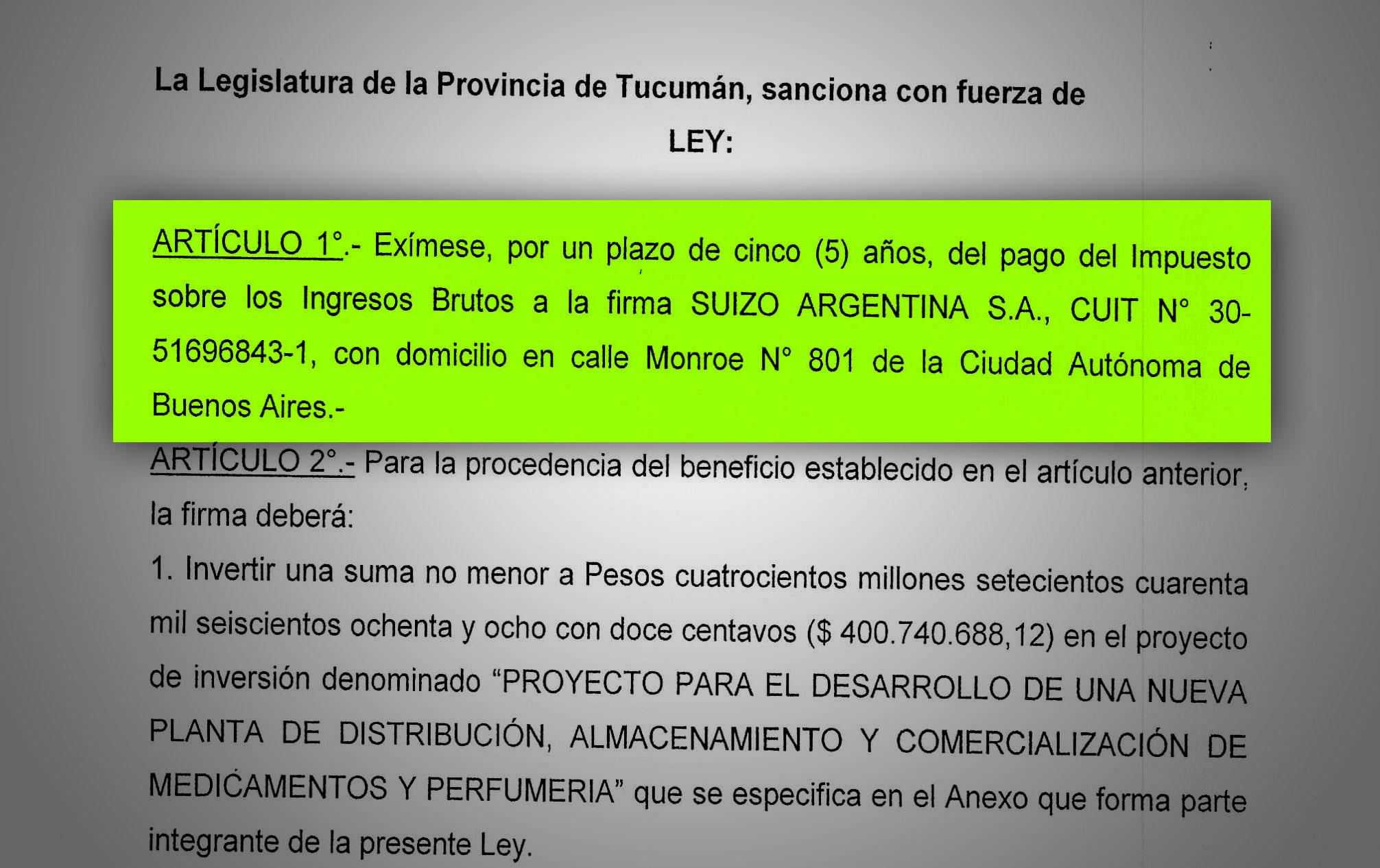 Droguería Suizo Argentina.