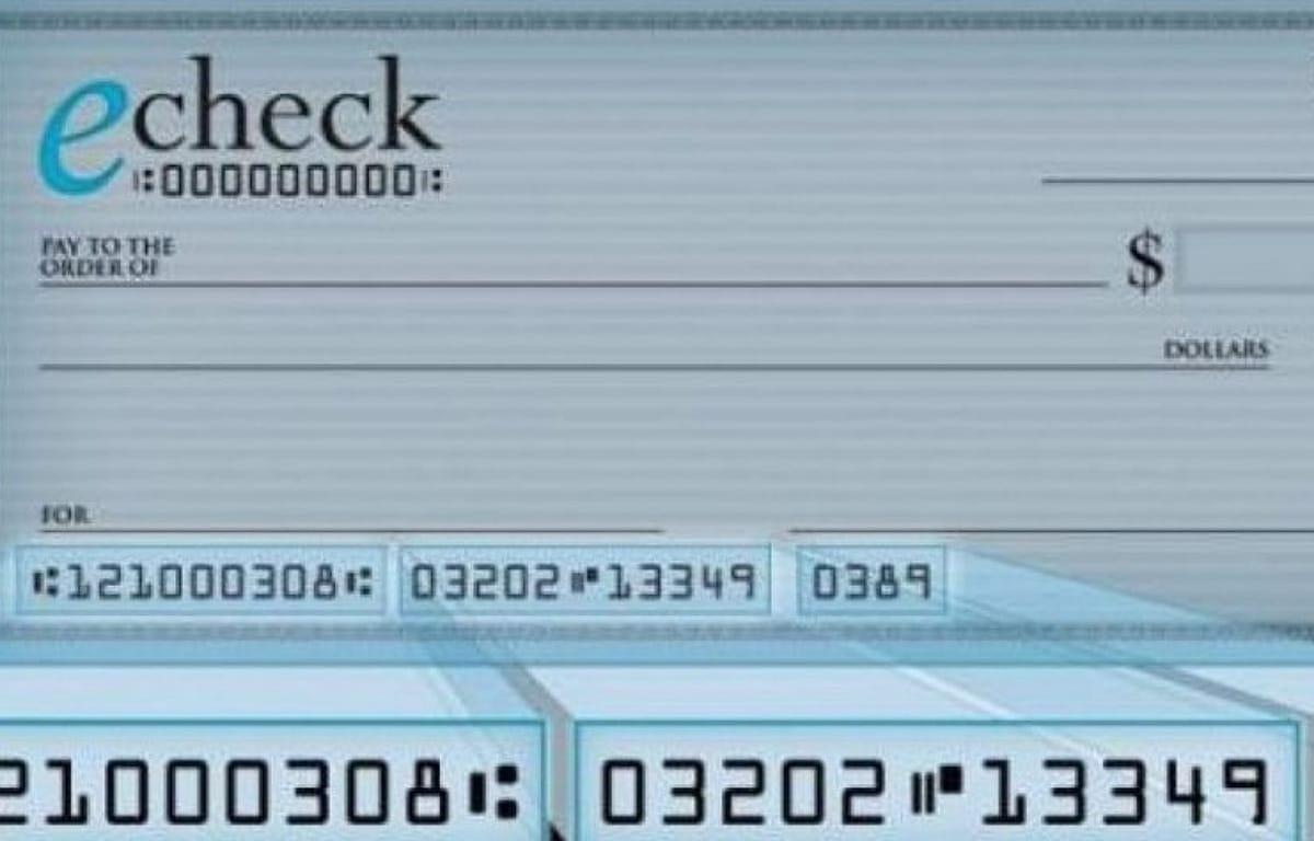 cheques electrónicos