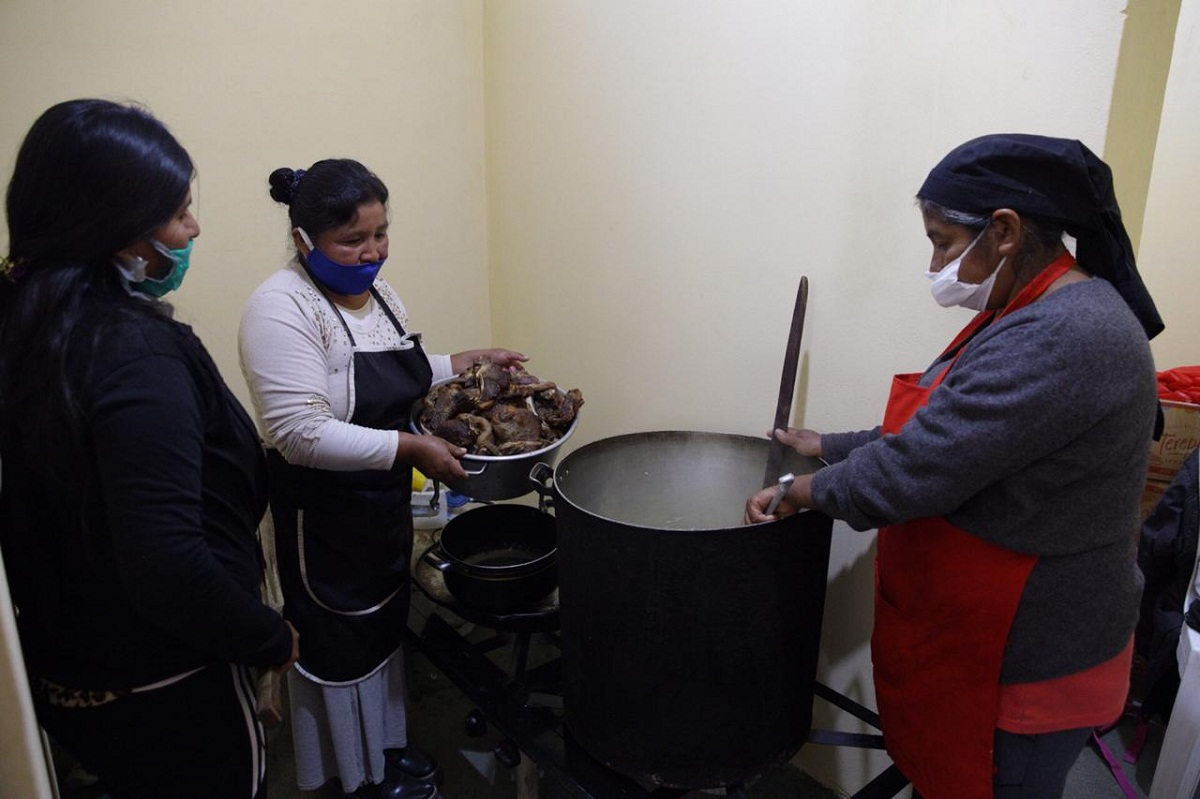 Nuevo espacio para cocinas comunitarias de Trancas.