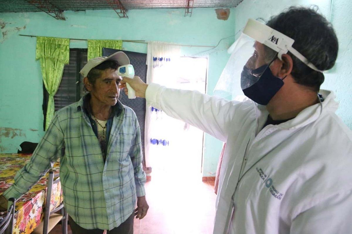 En La Costanera comenzó la búsqueda de febriles.