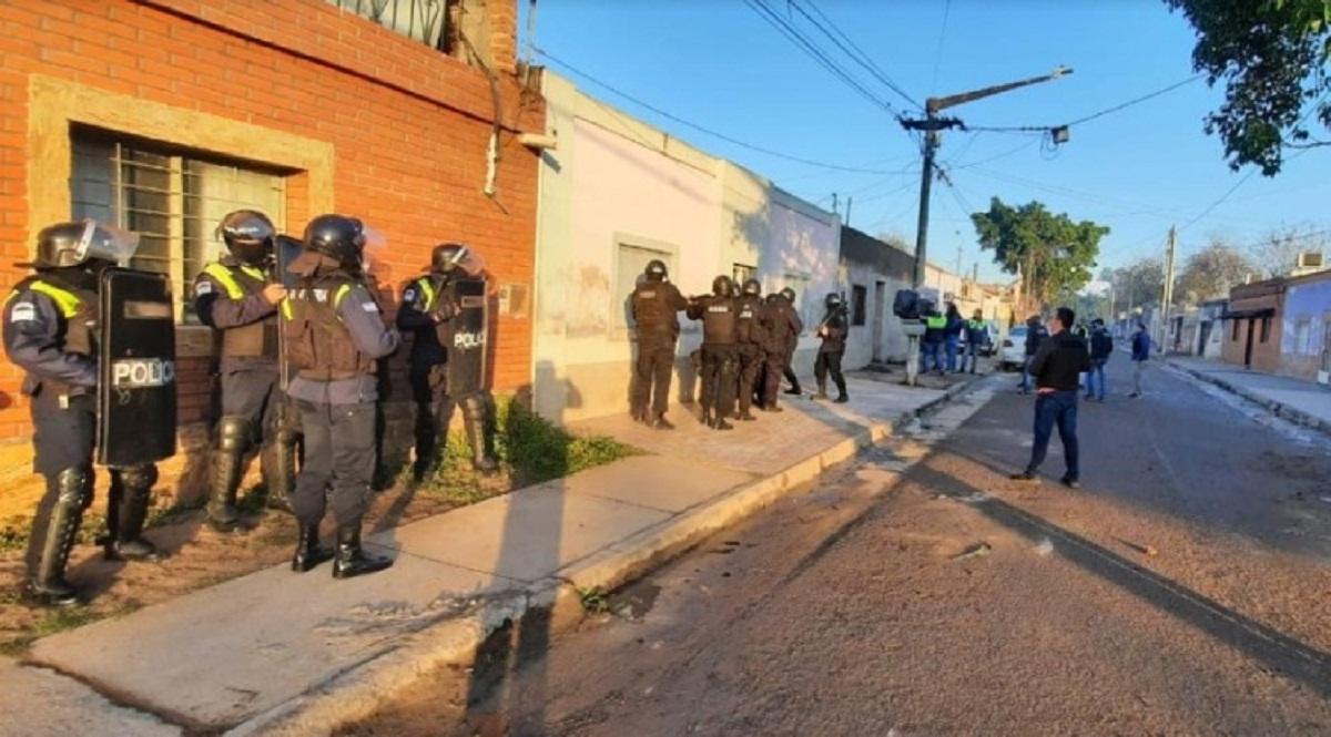 Secuestros y detenciones en megaopertaivo.