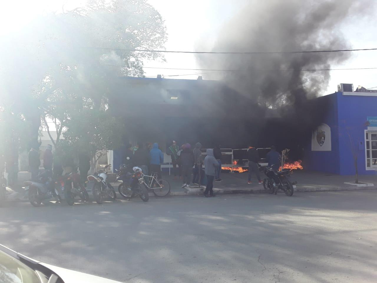 Disturbios en Palacio Municipal