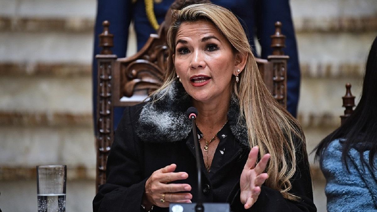 Presidenta de Bolivia coronavirus