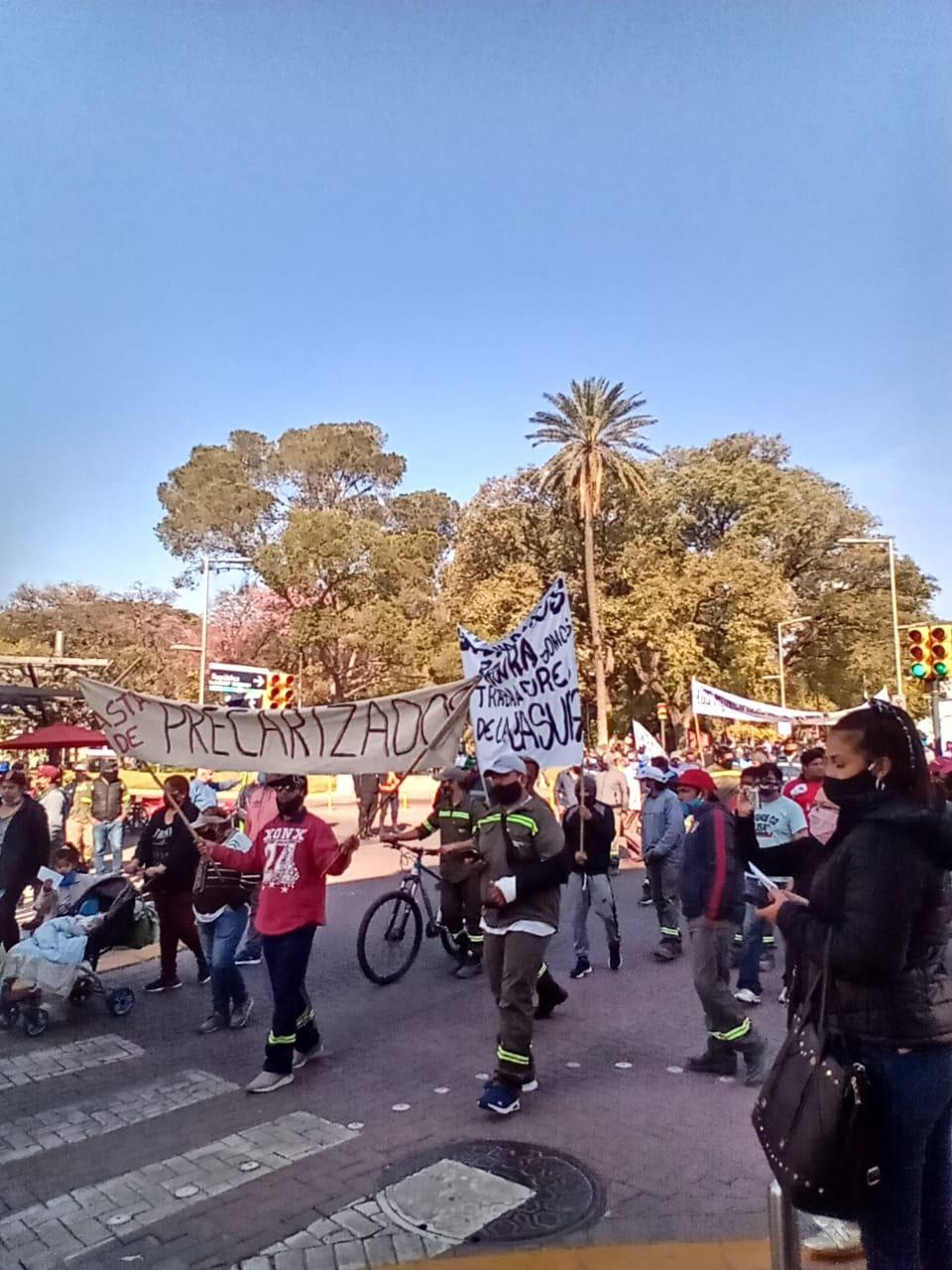 Protesta SOEM