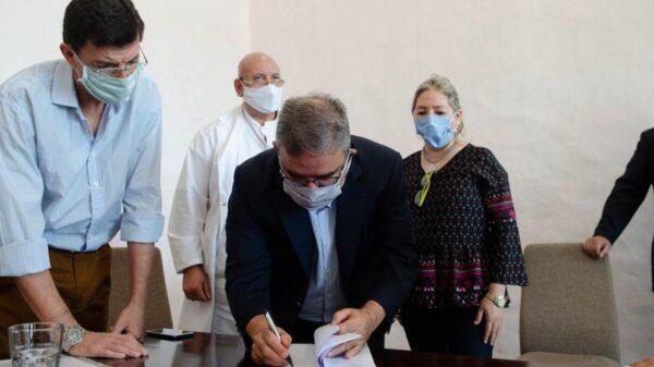 Firma para Polo de salud