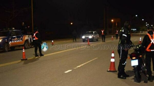 operativos policiales en Catamarca